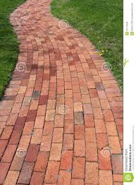 Brick Sidewalk Patterns