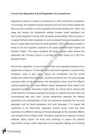 negotiation essay ehr negotiation thinkswap negotiation essay