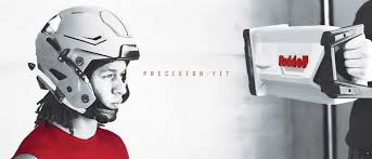 riddell precision fit tech uses 3d scanning for custom football