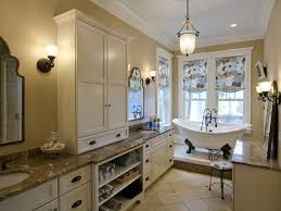 Bathroom Vanity Tables And Furniture HGTV - Bathroom cabinet remodel