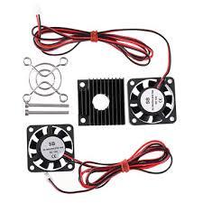 <b>4010</b> 12v 2500±10% speed cooling fan heat dissipation heatsink kit ...