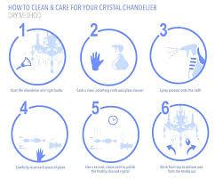 how to clean crystal chandelier chndelier nd cre crystl chandeliers ltd vinegar spray