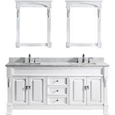 usa tilda single bathroom vanity set: virtu usa huntshire quot double bathroom vanity cabinet set in white