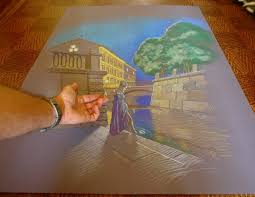 3d painting on paper