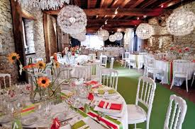 summer and spring wedding decorations