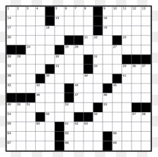 blank crossword puzzle grids printable spring crossword puzzle printable free transparent png clipart