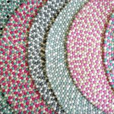 round pink rug. Turquoise And Pink Rug Remarkable Felt Ball In Light Sand White Hot Home Ideas 22 Round