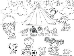 Healthy Food Coloring Pages Food Coloring Pages Printable Sheet New