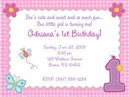 Hugs And Stitches 1st Birthday Girl Party Invitations 1st Birthday Girl