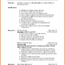 10 Skills To Put On High School Resume Resume Letter