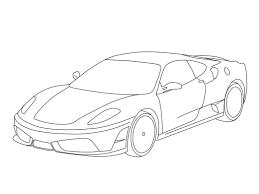 Free La Ferrari Coloring Pages Zuckett