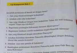 Kunci jawaban buku paket bahasa indonesia hal 58. Jawaban Soal Agama Kristen Kelas 9 Halaman 49 Adalah Ilmu Soal
