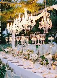 Taking Your Wedding To The Next Level With Chandeliers Belle The Gorgeous Garden Wedding Reception Ideas Design