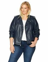 Details About Levis Size Womens Plus Classic Faux Leather Motorcycle Jacket