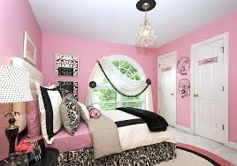 Pink And Black Girls Bedroom Pink Wall Room Ideas Bedroom Walls Grey And Black Has Little Girls