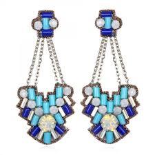aegean chandelier earrings