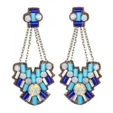 aegean chandelier earrings