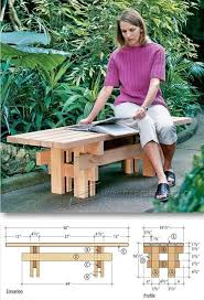japanese outdoor furniture. Japanese Garden Bench Plans - Outdoor Furniture And Projects | WoodArchivist.com E