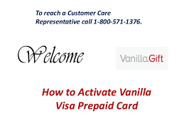 Before activating your at&t prepaid account from your device, make sure it has been charged and that the at&t prepaid sim card has been inserted. How To Activate Vanilla Visa Prepaid Card