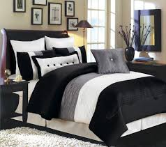 Black And Grey Bedding Sets Bed Bath Beyond Intended For Black Grey Comforter Sets Bed Bath And Beyond