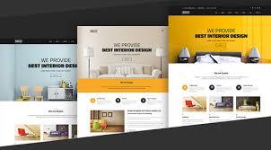 Small Picture 50 Interior Design Furniture Website Templates 2017