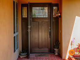 single entry doors with glass. Craftsman Single 36x80 Fiberglass Entry Door With 2 Sidelights In 5 Foot Wide Entrance. Plastpro Doors Glass