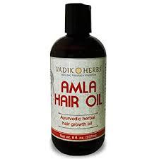 Amla Hair Oil (8 oz) by Vadik Herbs | Herbal hair ... - Amazon.com