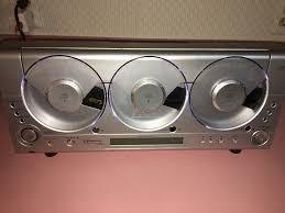 emerson ms3105 triple cd player linear 3 cd am fm wall mount rare