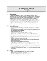 Job Description - Northeast Credit Union