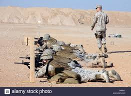 U.S. Marines conduct a battlefield zero ...