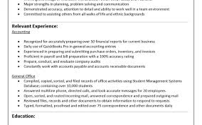Resume Template For Experienced Literarywondrous Experiencedountant Resume Format Sample 19