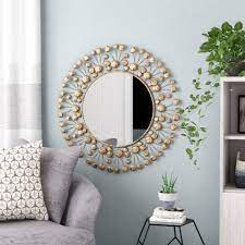 Find square and round mirrors for every space. Gorman Accent Wall Mirror Page 1 Line 17qq Com