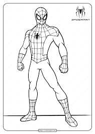 For kids & adults you can print spiderman or color online. Printable Marvel Spiderman Coloring Pages