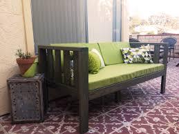 Diy Patio Furniture Our Diy Patio Sofa Vivagood