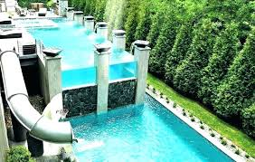 in ground pools with slides. Water Slide For Above Ground Pool In Slides Pools With
