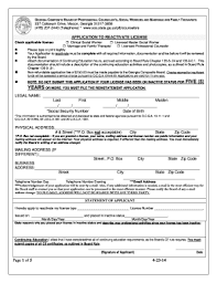 cosmetology license in georgia form