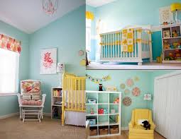 kids room cute kids bedroom lighting. Kids Room Light Blue Wall Paint Decoration Shelving Yellow Crib Chair Desk Lamp Pendant Cute Bedroom Lighting