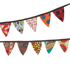 Pendant Banner African Pennant Banner Wmu Store