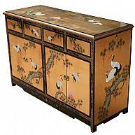 lacquered furniture. gold chinese oriental furniture sideboard lacquered