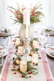 Mercury Glass Christmas Tablescape | blesserhouse.com - How to set up a  vintage glam