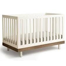 Classic Modern Crib in Walnut