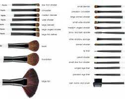 professional 24 pcs cosmetic make up brush kit wool makeup brushes tools with black leather case