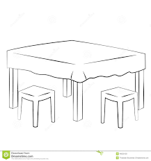 table clipart black and white. pin table clipart breakfast #3 black and white