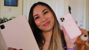 Check out our pink ipad pro selection for the very best in unique or custom, handmade pieces from well you're in luck, because here they come. Apple Smart Folio For Ipad Pro 2020 In Pink Sand Screen Protector Installation Maureen Scott Youtube