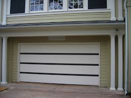 white wood garage door. White Wood Garage Door With Contemporary Painted In Eggshell Charcoal P