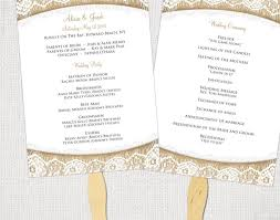 sample wedding program wording wedding wedding program fan etsy amazing program fans for