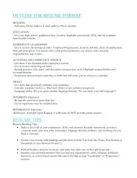 Education Order On Resume Example Of A Resume For A Job Post Resume