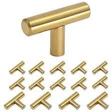 modern brass cabinet pulls. Simple Brass Brushed Brass Cabinet Knobs 2in Modern Gold Kitchen Door Handles Drawer  Pulls 15 For