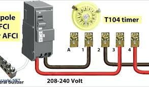 cutler hammer gfi breaker breaker wiring diagram beautiful 2 pole GFCI Breaker Wiring Diagram at 2 Pole Circuit Breaker Wiring Diagram