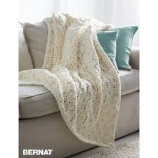 Bernat Blanket Yarn Patterns Knit Delectable Seaside Blanket Yarnspirations Bernat Blanket Free Pattern
